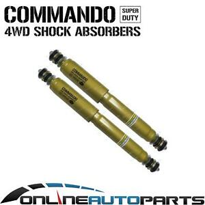 2 X Front Or Rear Commando Gas Shock Absorbers Suits Nissan Patrol G60 1960 1979