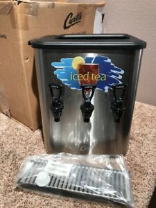 Curtis Tcc3 Iced Tea Concentrate Dispenser 3 0 Gallon new