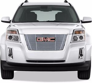 Fits Gmc Terrain 2010 2011 2012 Stainless Chrome Billet Grille Insert Top Only