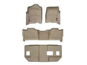 Weathertech Floorliner For Suburban Yukon Xl W Bench Seats 1st 2nd 3rd Tan