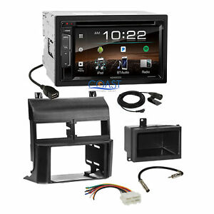 Kenwood Bluetooth Sirius Stereo 2din Dash Kit Harness For 88 94 Chevy Gmc Truck