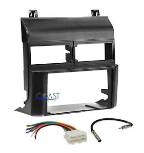 Car Radio Stereo Double Din Black Dash Kit Harness For 1988 94 Chevy Gmc Trucks