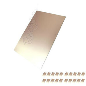 20 Pcs Copper Clad Laminate Circuit Boards Fr4 Pcb 120mm X 180mm Single Sided