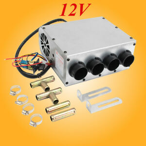 12v Universal Copper Underdash Compact Heater Heat Speed Switch For 5 8 Hose