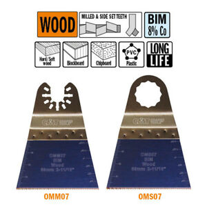 Cmt Omm07 x50 50 Pack 2 11 16 68mm X long Life Plunge And Flush cut Wood