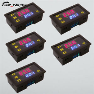 5pcs 12v Timing Delay Relay Module Cycle Timer Digital Led Dual Display
