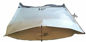 50 30x36x10 Large Poly Mailer Plastic Polybag Polymailer 4 Mil Extra Thick