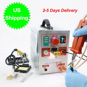 ca welding Machine 2 In 1 1 9kw Spot Welder Soldering 709a Battery Iron Staion