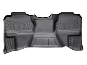 Weathertech Floorliner For Chevy Silverado Gmc Sierra 07 13 Ext Cab Black