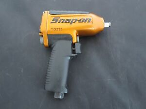 Snap On Tools Mg 325 Pneumatic Air 3 8 Impact Wrench Excellent Condition