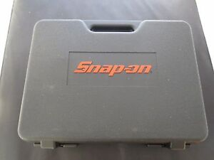 Snap On Tools Cordless Screwdriver Case Storage Box Excellent Condition