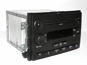 2007 Ford Fusion Car Radio Am Fm Mp3 Cd Player Oem Part Number 7e5t 18c869 Bb
