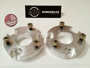 sr 2 Billet Front Leveling Spacer Lift Kit 15 19 Chevy Colorado Gmc Canyon