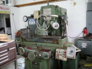 12 X 24 Grand Rapids Model 450 Automatic Hydraulic Wet Surface Grinder