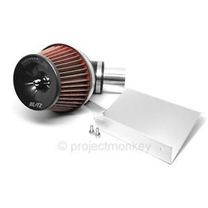 Blitz 59044 Lm Sus Power Core Air Intake Red Fits 93 98 Toyota Supra Turbo