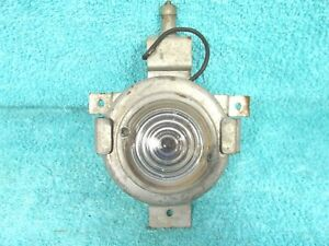 1960 S Under Hood Trunk Reel Out Retractable Trouble Emergency Light 1017