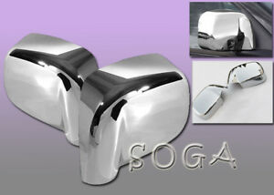For 2002 2008 Dodge Ram 1500 2500 3500 Chrome Side Mirror Cover Covers 2003 2004
