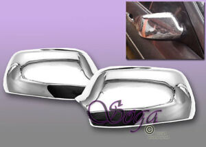 For 2004 2008 Mazda 3 2004 2007 Mazda 6 Chrome Side Mirror Covers Cover Overlay