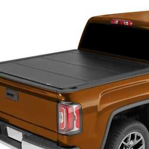 5 75ft Bed Tri Fold Hard Tonneau Cover Fits 07 13 Chevrolet Gmc