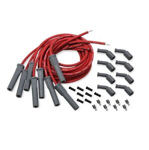 Holley 561 112 Red Cut to fit Efi Spark Plug Wire Boot Set For Gm Ls Engines