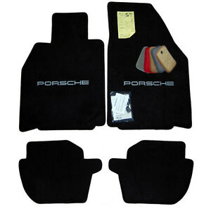 Porsche Carrera 911 964 993 996 997 991 Floor Mats Choose Your Logo