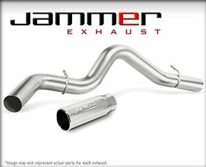 Edge 37774 Dpf Back 4in Jammer Ss Exhaust System For Dodge Ram 6 7l Cummins