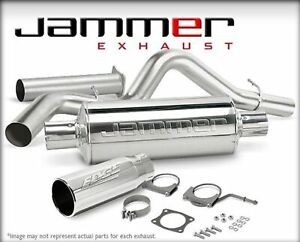 Edge 37700 Cat Back 4in Jammer Ss Exhaust System For Dodge Ram 5 9l Cummins