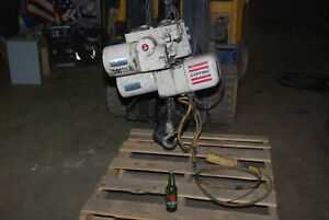 Coffing 1 2 Ton Electric Chain Hoist 0 5 0 17hp tree Phase Inv 25716