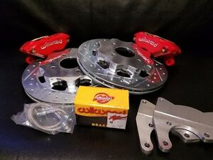Datsun 510 New Rear Disc Brake Conversion Wilwood Complete Kit 68 73 Coupe