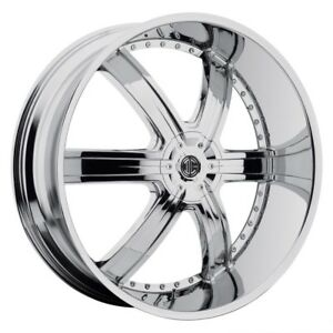 26 Inch 26x9 5 2crave No 4 Chrome Wheel Rim 6x5 5 6x139 7 15