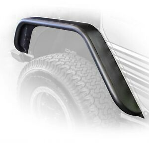 Dv8 Fendb 02 Flat Tube Fenders 2nd Gen Set Of 4 For Jeep Wrangler Jk