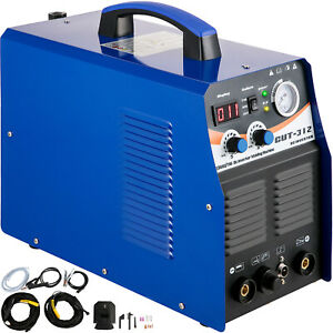 3 In 1 Plasma Cutter Tig Mma Stick arc Torch Welder Ct312 Blue Welding Machine