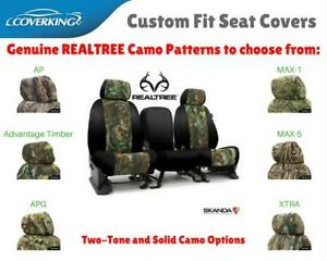 Realtree Camo Custom Fit Seat Covers Coverking For Ford Ranger