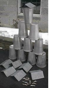 12 Maple Syrup Sap Pails Buckets Lids Covers Taps Spouts Spiles