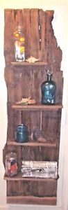 Reclaimed Rustic Weathered Barn Wood Shelf Floor Wall Shabby Chic Distressed