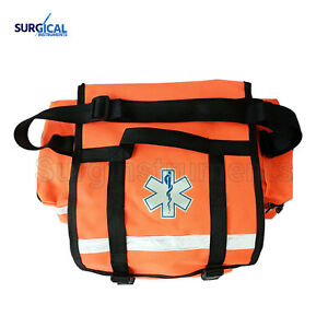 First Aid Responder Ems Emergency Medical Trauma Bag With Dividers