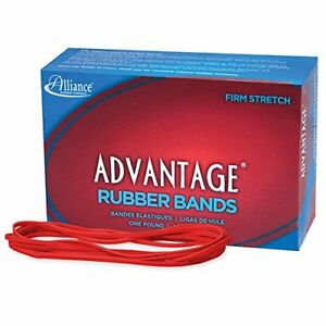 Alliance Advantage Red Rubber Band Size 117b 7 X 1 8 Inches 1 Pound Box
