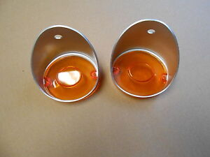 Mopar 70 71 72 73 74 Challenger 70 Charger Park Light Lenses Lens Pair New