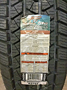 2 New 255 70 15 Summit Gt Radial Trac Tires