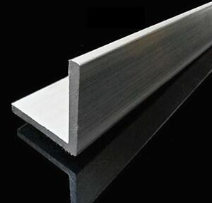 Us Stock 50mm X 50mm X 250mm 9 84 Long 5mm Thick 6061 T6 Aluminum Angle
