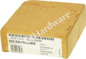 New Sealed Siemens 6es7314 1ag13 0ab0 Simatic S7 300 Cpu314 Controller Mpi 96k