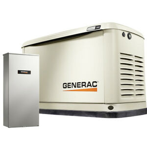 Generac 7030 9kw Home Standby Air Cooled Power Generator W 100a Transfer Switch