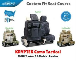 Kryptek Camo Tactical Custom Fit Seat Covers For Pontiac Fiero