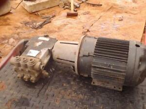 5 Hp Lincoln Electric Motor With Hypro Hydraulic Pump 5hp 3 Phase 230 460v