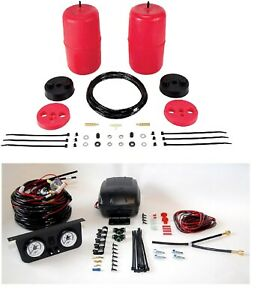 Air Lift Control Air Spring Dual Path Leveling Kit For 07 14 Toyota Fj Cruiser