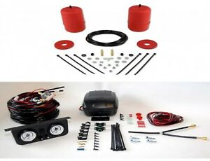 Air Lift Control Air Spring Dual Path Leveling Kit For 1998 2003 Toyota Sienna