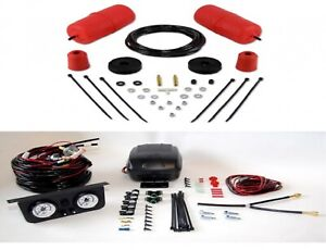 Air Lift Rear Control Air Spring Dual Path Leveling Kit For 00 06 Ford Focus