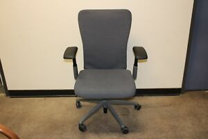Haworth Zody Ergonomic Ergo Jacket Upgrade Fully Loaded Swivel Office Chair