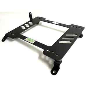 Planted Seat Bracket Driver Left Side Toyota Supra 86 92 Steel Black