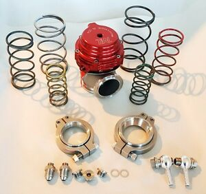 Tial Wastegate Mvs Mv s 38mm V band External 0 3 To 1 7 Bar In Red